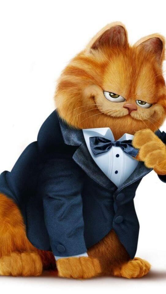 kucing garfield versi kartun