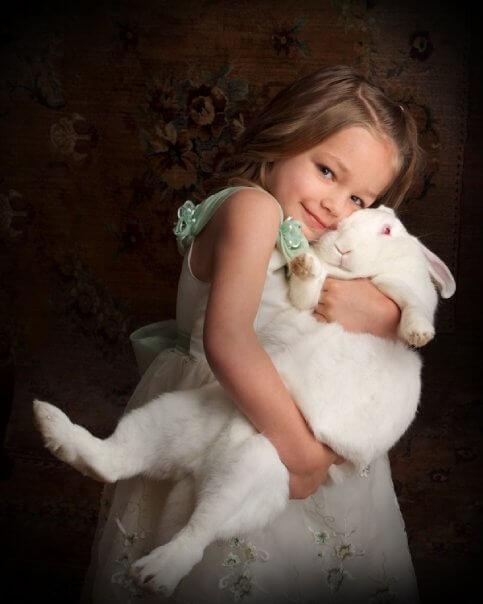 berikan perhatian untuk kelinci mu