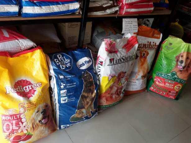 daftar makanan anjing